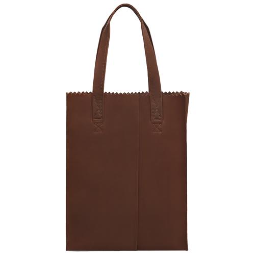 MYOMY My Paper Bag Shopper cognac