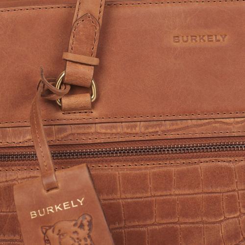 Burkely Croco Cassy cognac