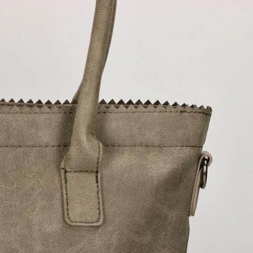 Zebra Trends Natural Bag Kartel rits taupe