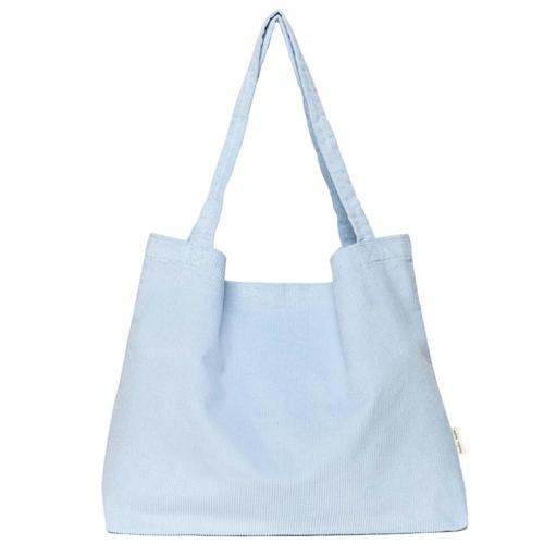 Studio Noos Rib mom-bag blauw