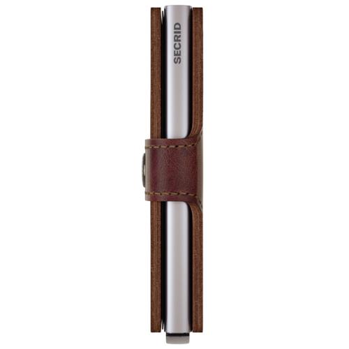 Secrid Miniwallet bruin