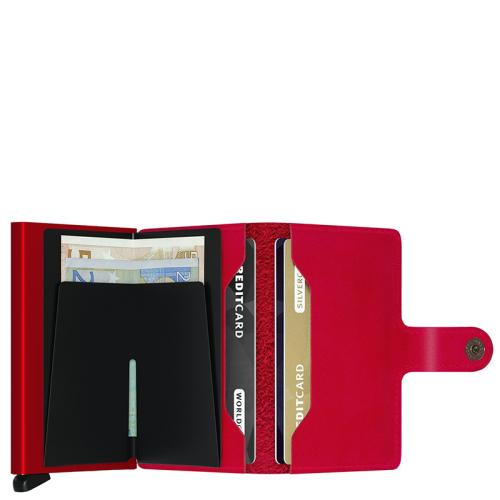 Secrid Miniwallet rood