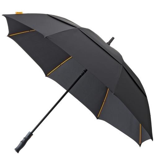 Impliva Golfparaplu Lang Automaat zwart