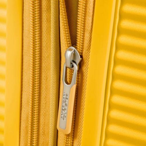 American Tourister Soundbox geel