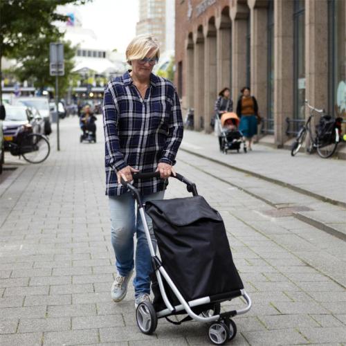 ShoppingCruiser 3 Wheels zwart