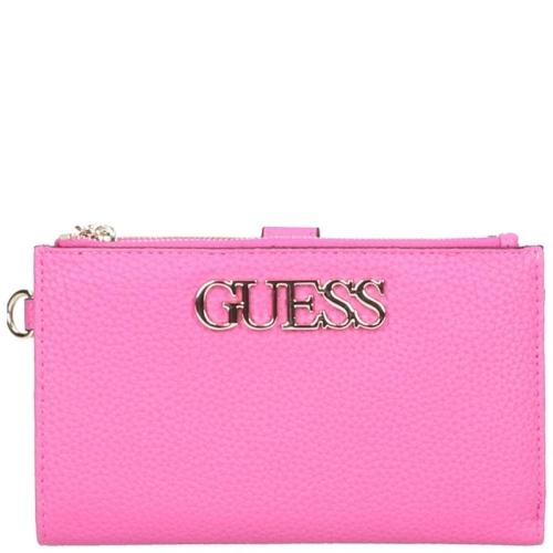 eb2221f4f54 Guess Uptown Portemonnees roze 88588.102 | van Os tassen en koffers