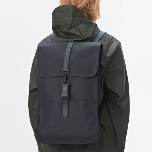 Rains Backpack zwart
