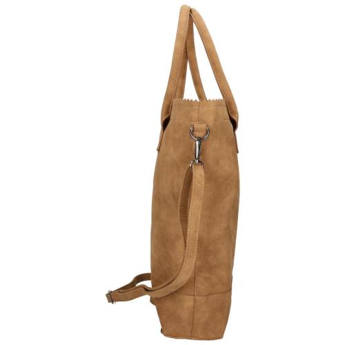 Zebra Trends Natural Bag Kartel rits bruin