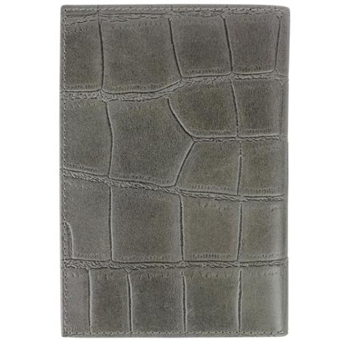 Loulou Essentiels Vintage Croco grijs