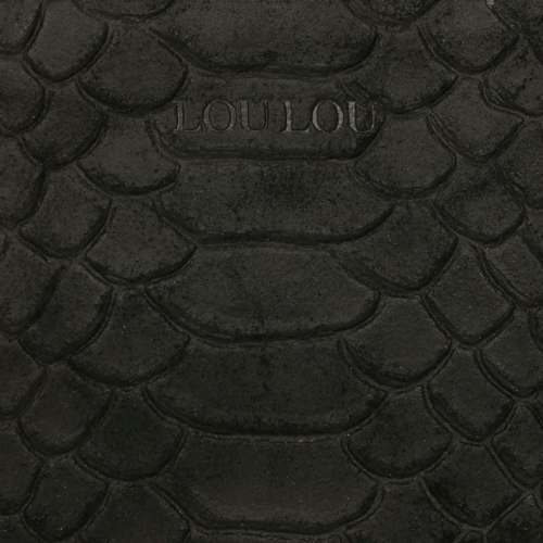 Loulou Essentiels Sugar Snake zwart