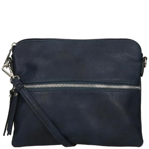 51772c80d3b Flora & Co Soft Tassen blauw 91551.200 | van Os tassen en koffers