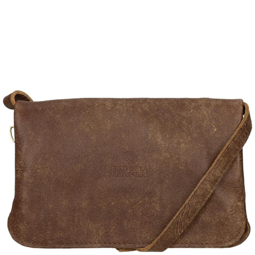 Fred De La Bretoniere Hand Buffed Leather bruin