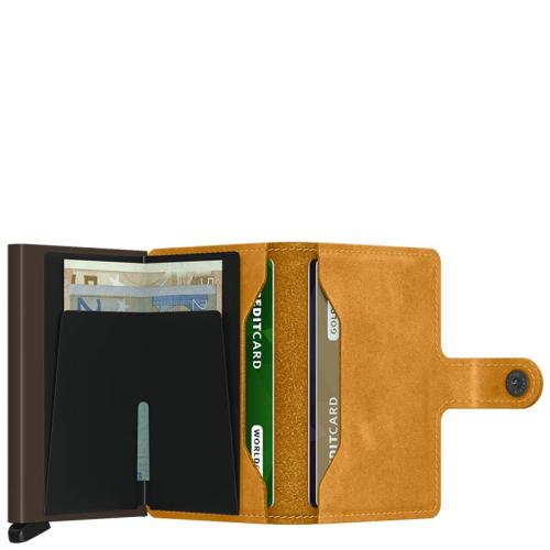 Secrid Miniwallet geel