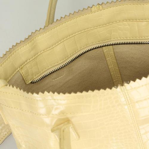 Zebra Trends Natural Bag Kartel rits geel