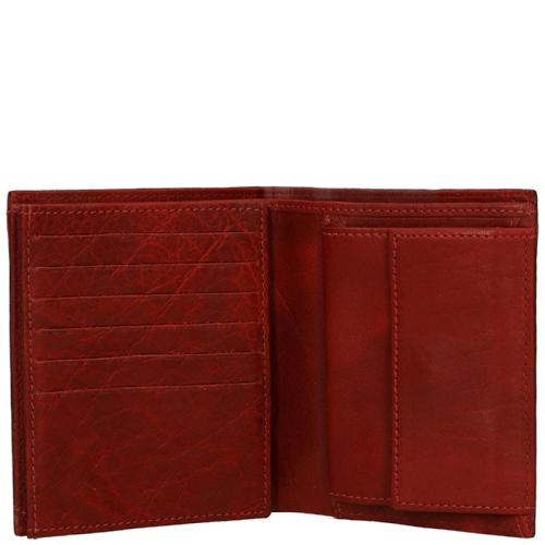 dR Amsterdam Waxi Portemonnees rood 96069.100 | van Os