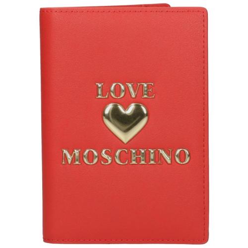 Love Moschino Padded Shiny Heart rood