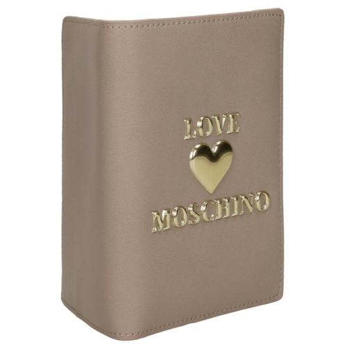 Love Moschino Padded Shiny Heart grijs