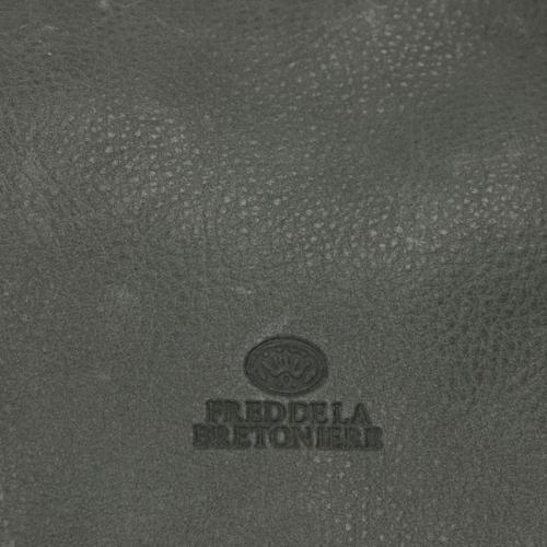 Fred De La Bretoniere Heavy Grain Leather grijs