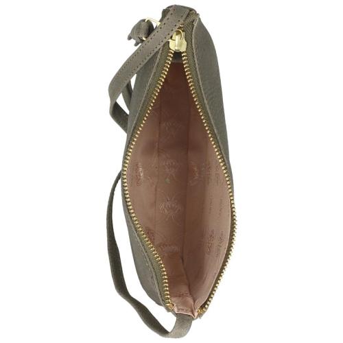 Fred De La Bretoniere Heavy Grain Leather taupe